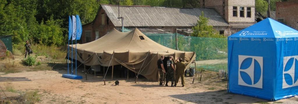 Шатры и палатки для отдыха больших и маленьких компаний