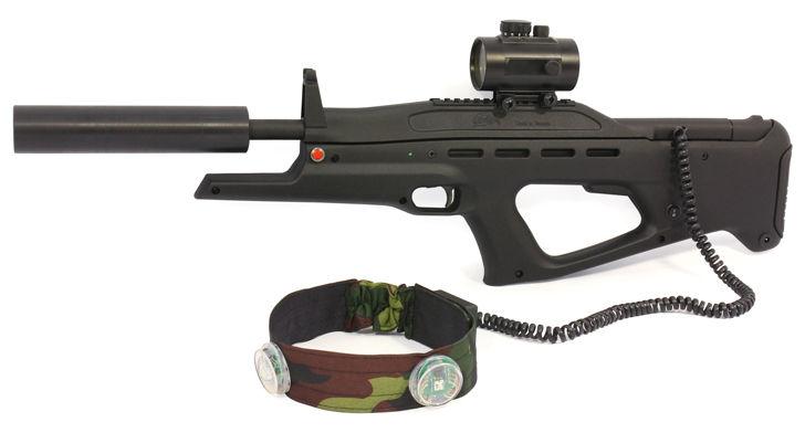 Комплект оборудования для игры в лазертаг
