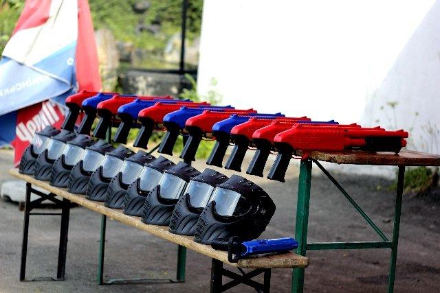 Оборудование JT SPLATMASTER в пейнтбольном клубе Экстримал в Харькове