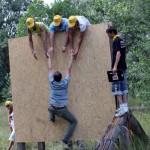 Создание команды на копоративе в пейнтбольном клубе Экстремал