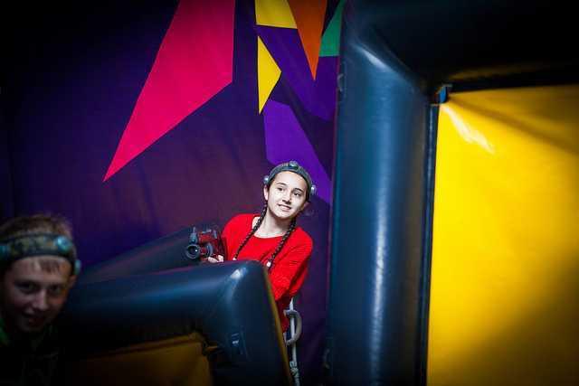 Детский праздник в Харькове в пейнтбольном клубе Экстремал