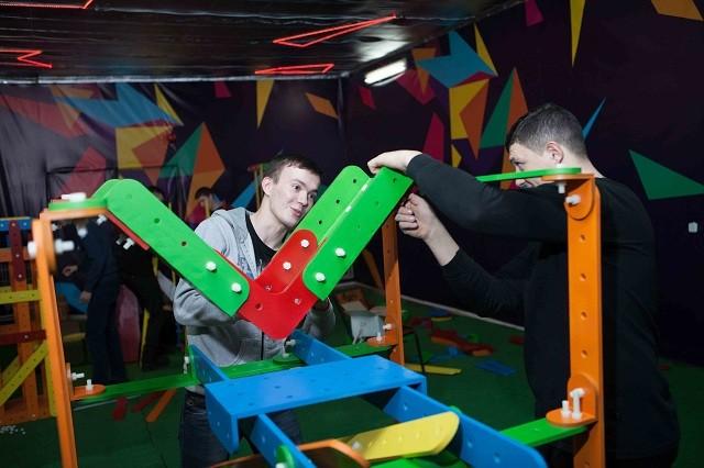 Первый в Украине тимбилдинг-конструктор