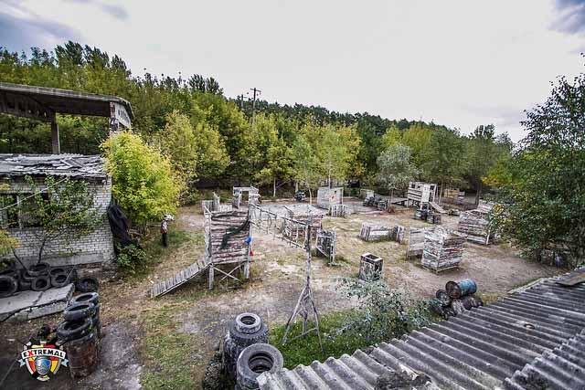 Площадки для пейнтбола в Харькове
