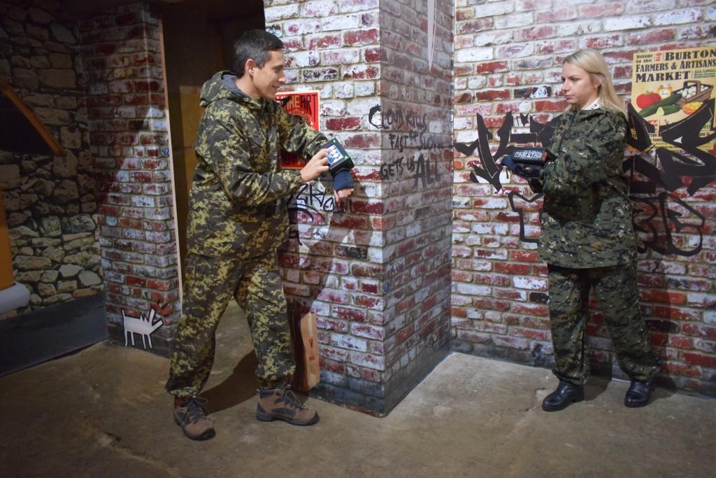 Лазертаг, таймтаг площадка в Харькове, где поиграть в лазертаг в Харькове?