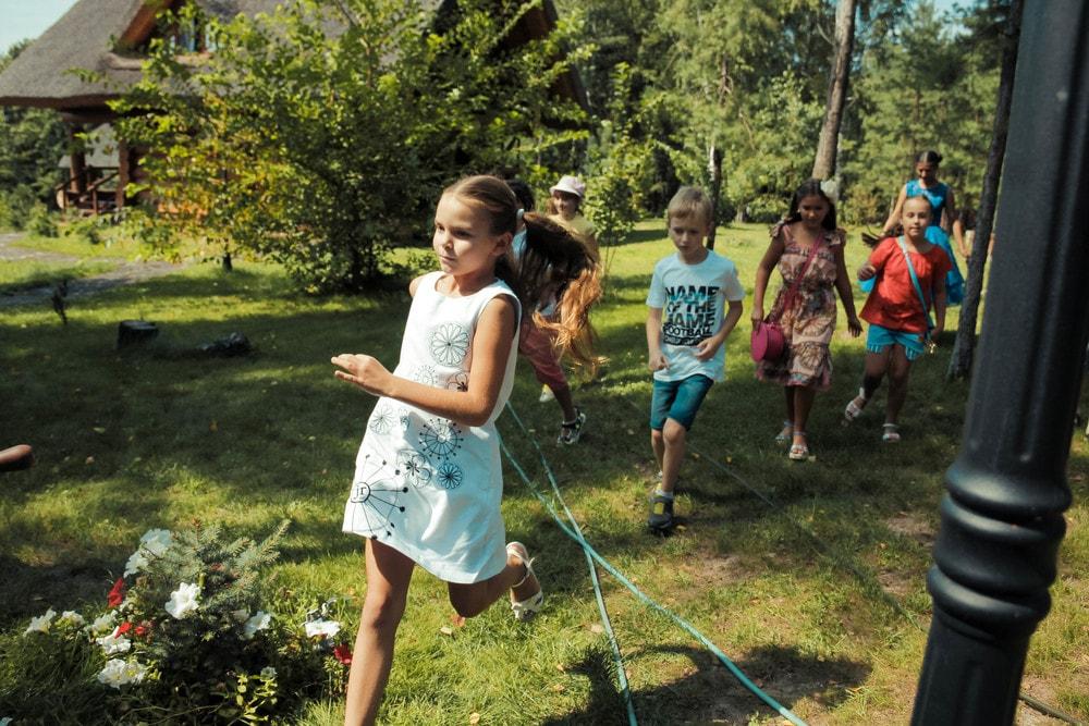 Детский праздник на природе в Харькове от ПК Extremal