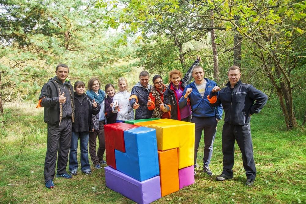 Тимбилдинг в Харькове на корпоратив