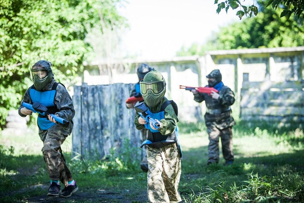 Пейнтбол детский в Экстремале — это всегда увлекательно