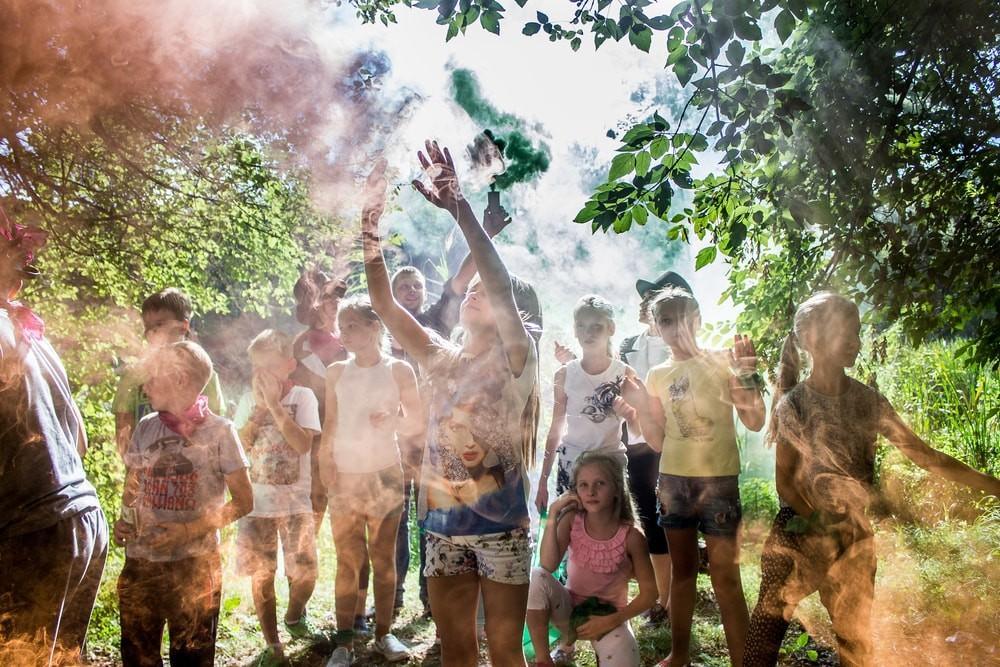 Детский праздник в Храькове от ПК Экстремал