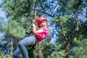 веревочный парк на детский праздник в Харькове от ПК Экстремал
