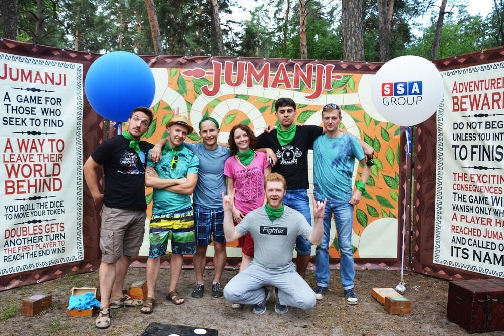 Квест Джуманджи на корпоратив в Харькове и по Украине