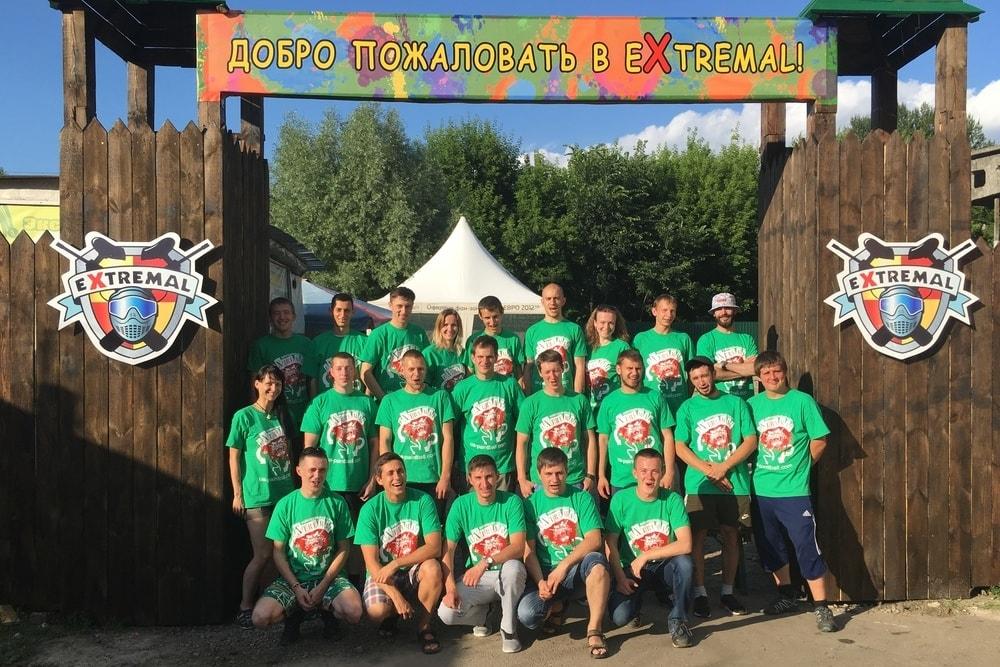 Команда Пейнтбольного комплекса Экстремал