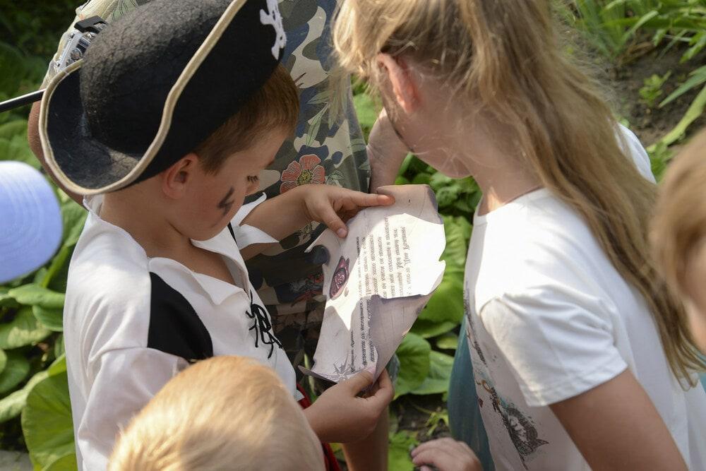 """Квест """"Пираты"""" на природе"""