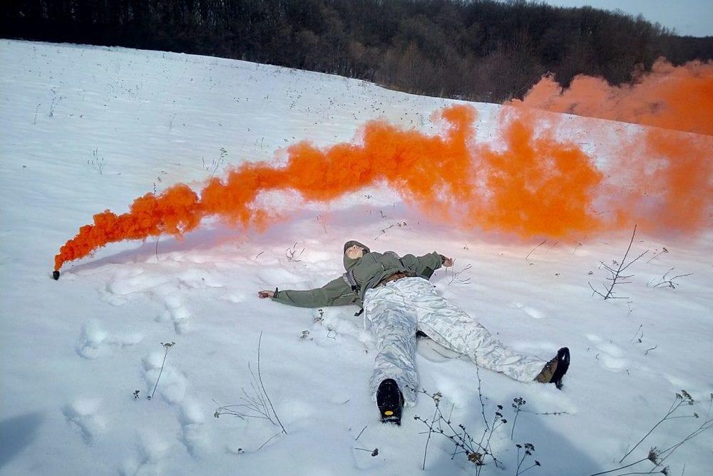 """Квест """"Выжить любой ценой"""" зимой и в холодное время года от Пейнтбольного комплекса Экстремал"""