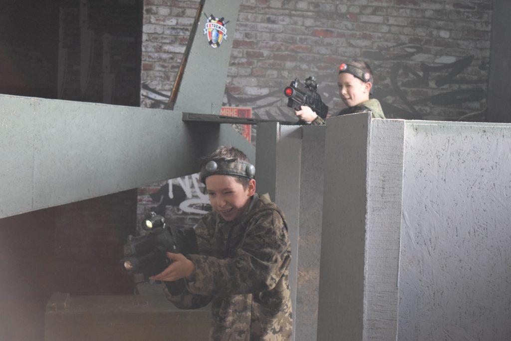 Новая тематическая лазертаг площадка в Харькове
