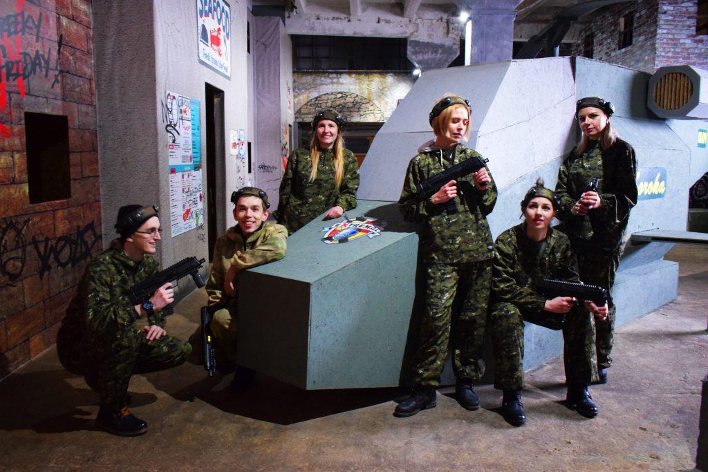 Стилистическая лазертаг арена в Харькове от ПК Экстремал