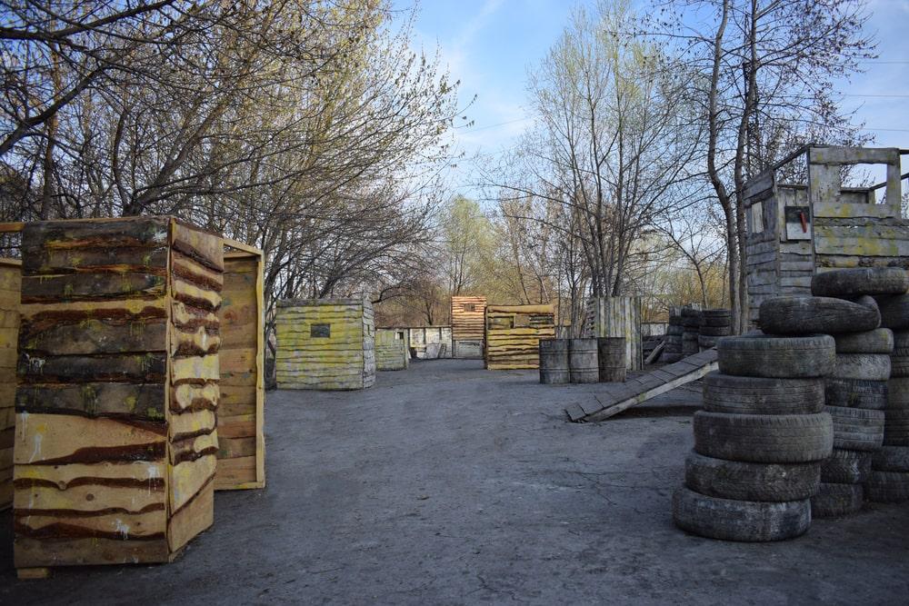 Площадка для игры в Таймтаг в Харькове от ПК Extremal