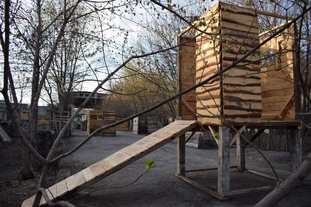 Площадка для лазертага в Харькове под открытым небом в ПК Экстремал