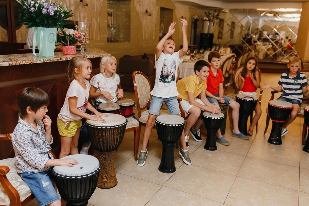 Музыкальный тимбилдинг для детей