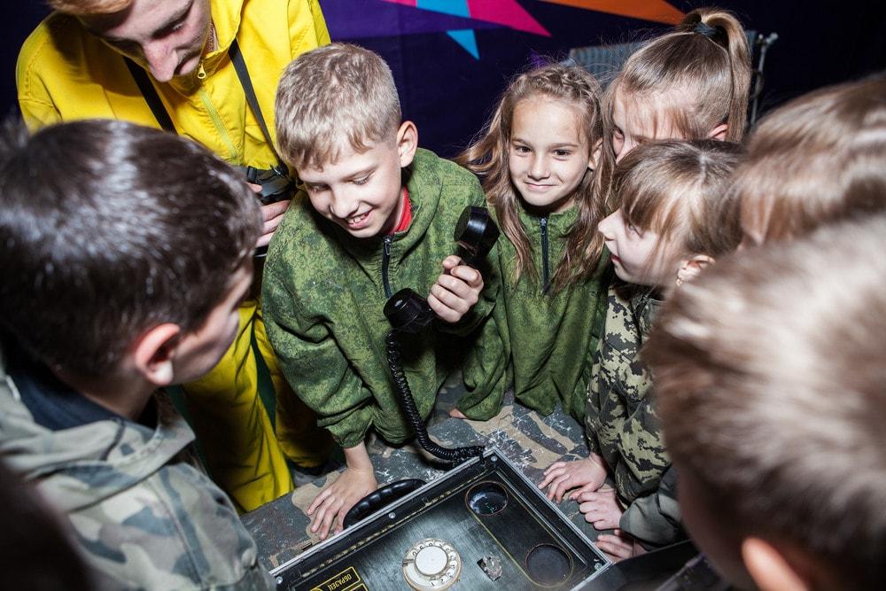 Квест Сталкер по акции для детей и взрослых в Харькове