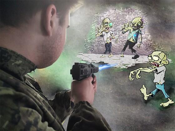 Zombie shooter. Новинка, тир в Экстремале