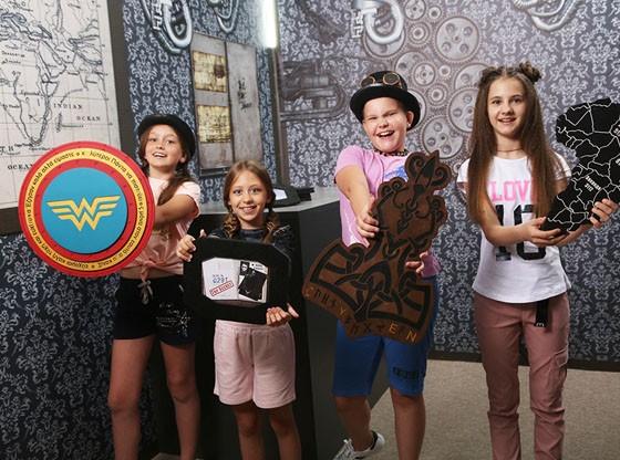У нас крутая новинка!  Спортивный квест «Супергерои» для детей от 4-х лет!